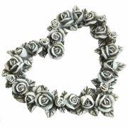Rosen Blüten Herz Gedenken Herz