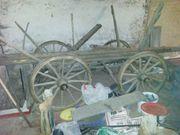 Wagen Holzwagen