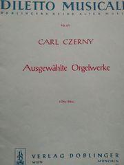 Orgelheft Diletto Musicale Orgelwerke Carl