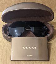 Gucci Herren Sonnenbrille braun Aviator