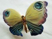 Schmetterling Porzellan Ens blaue Muehlenmarke