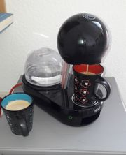 DeLonghi Nescafe Gusto Kapselmaschine schwarz