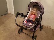 Puppenwagen mit Baby Born
