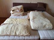 Lammfell Kissen und Decken