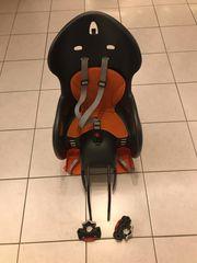 Kindersitz Fahrradsitz mit zwei Halterungen