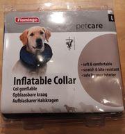 Aufblasbarer Halskragen Hund Größe L
