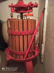 Obstpresse Saftpresse Weinpresse 35 Liter