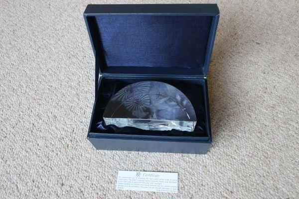 Verkaufe 3D Kristallglas Laserglas Rundbogen