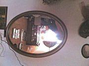 großer Spiegel oval