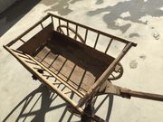 Holz -Leiterwagen