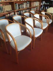 8 Wunderschöne Massivholz Designer Stühle