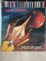 Schallplatte Sound Barrier Speed of
