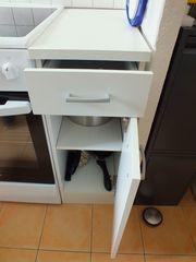 Küchenschränkchen weiß 1 1 2