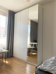 Kleiderschrankset mit Spiegeltür inkl Schuhregal