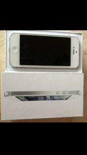 iPhone 5 weiß silber