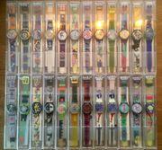 Swatch-Sammlung 60 Stk - Ungetragen - Neu -