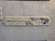 großes Gartenthermometer Thermometer zu verschenken