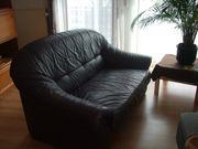 Ledersofa 2-Sitze Sofa