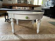 Sofa Tisch im Vintage Shabby