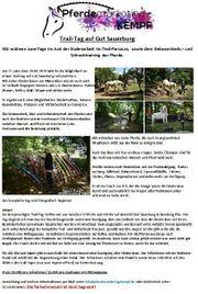 Trail Tag Trail Turnier für
