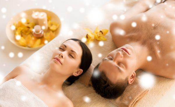 Aromaölentspannung-Massage-Klang
