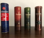 Dosen für Whisky und Ramazzotti