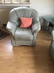 Schlafcouch mit passendem Sessel aus