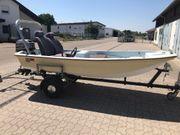 Motorboot Angelboot incl Motor und