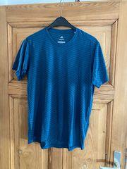 Adidas Laufshirt in blau schwarz