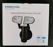 Außenlampe mit Bewegungsmelder Dämmerungssensor IP44