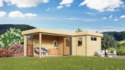 Gartenhaus Alu Concept 44 N