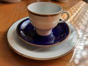 Bareuther Waldsassen - Kaffeeservice 20-teilig kobaltblau