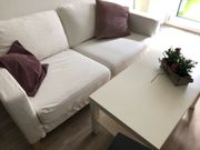 Couch Sofa mit Tisch