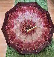 Damen Gehstock als Schirm Gehhilfe
