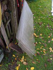 Glasscheiben einer Solaranlage - 8 Stück