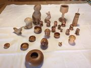 Kleine Holzfiguren