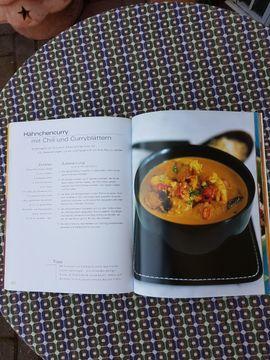 Fach- und Sachliteratur - Neuwertiges modernes Kochbuch Currys