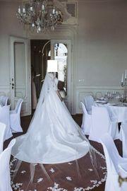 Hochzeitskleid Brautkleid inkl Reifrock