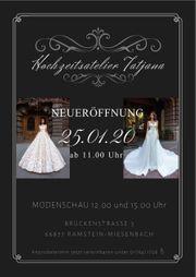 Neueröffnung Hochzeitsatelier Tatjana
