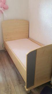 Kinderbett Holz 140 80