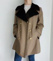 Vintage Mantel Trenchcoat Oversize Jacke