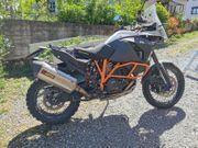 KTM Adventure 1190R mit 150