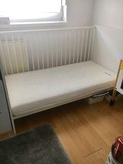 Babybett Kinderbett mit Matratze und