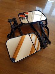 Universal Doppelspiegel Aufsteckspiegel Caravanspiegel 2