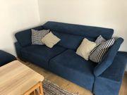 Sofa Möbelum Merano blau
