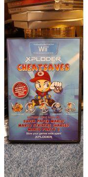 Xploder Cheatsaves für Wii