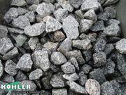 Splitt Granit hellgrau 16-22 und