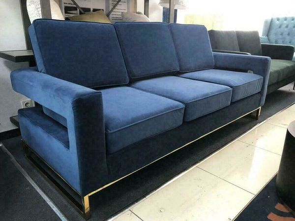 Samt-Sofa LIV by BRAID CONCEPT