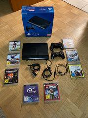 Sony PS 3 inkl Spiele