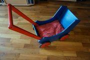 Haba Kinderwagen blau